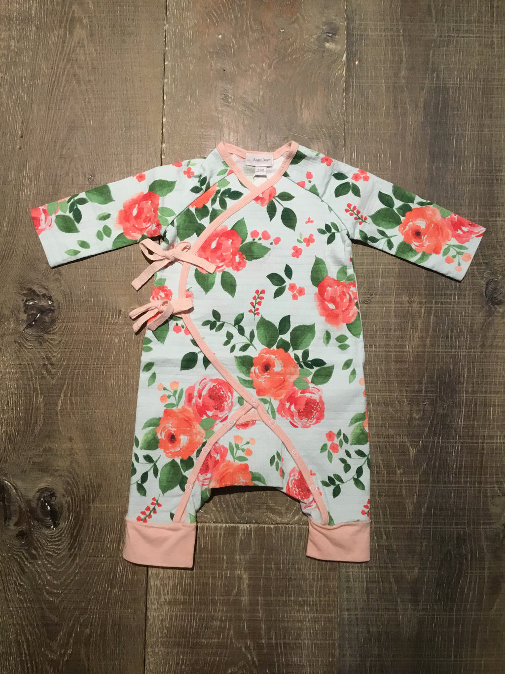 Rose Garden Wrap Coverall