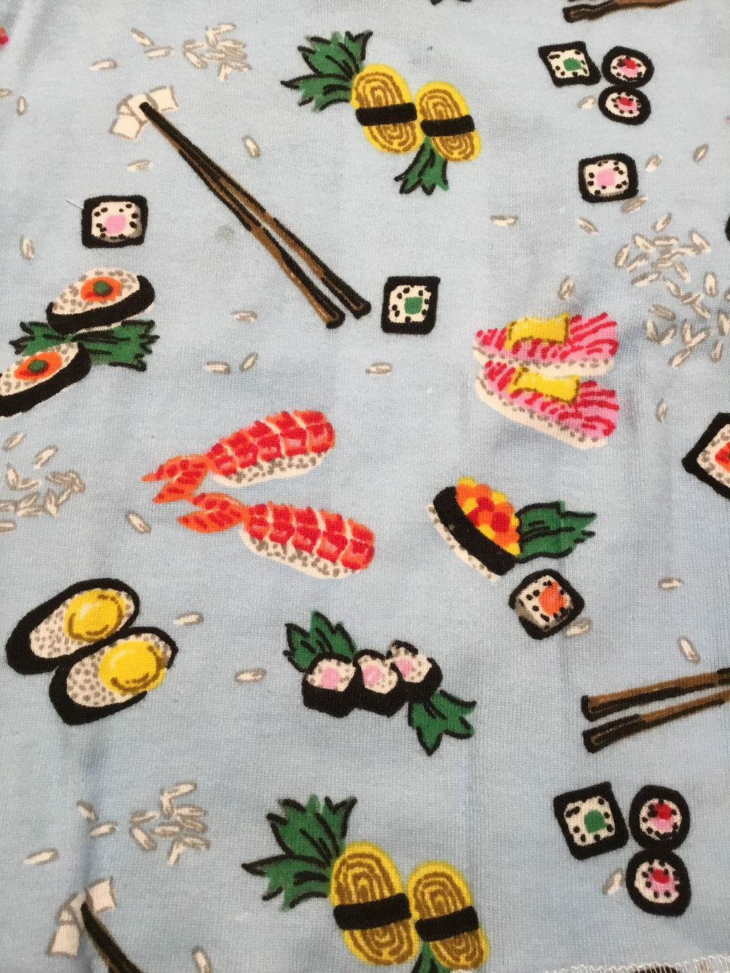Sushi Print Long PJs by Thingamajiggies4Kids