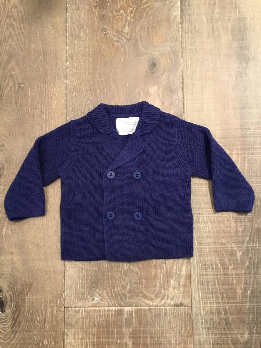 Atlantic Blue Knit Jacket