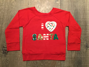 Love Santa Long Sleeve Shirt