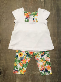 Geranium Beauty Shirt & Leggings Set