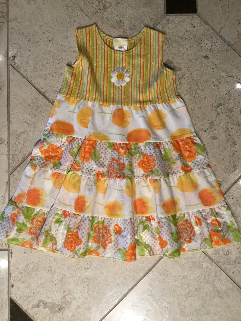 Spring Flowers Sundress by ZaZa Couture