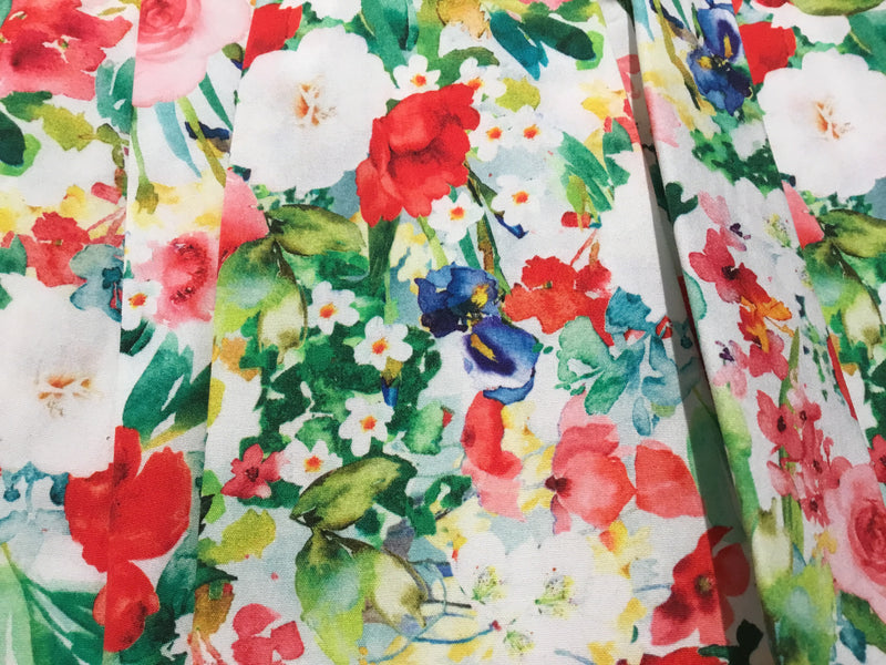 Voille Flower Dress