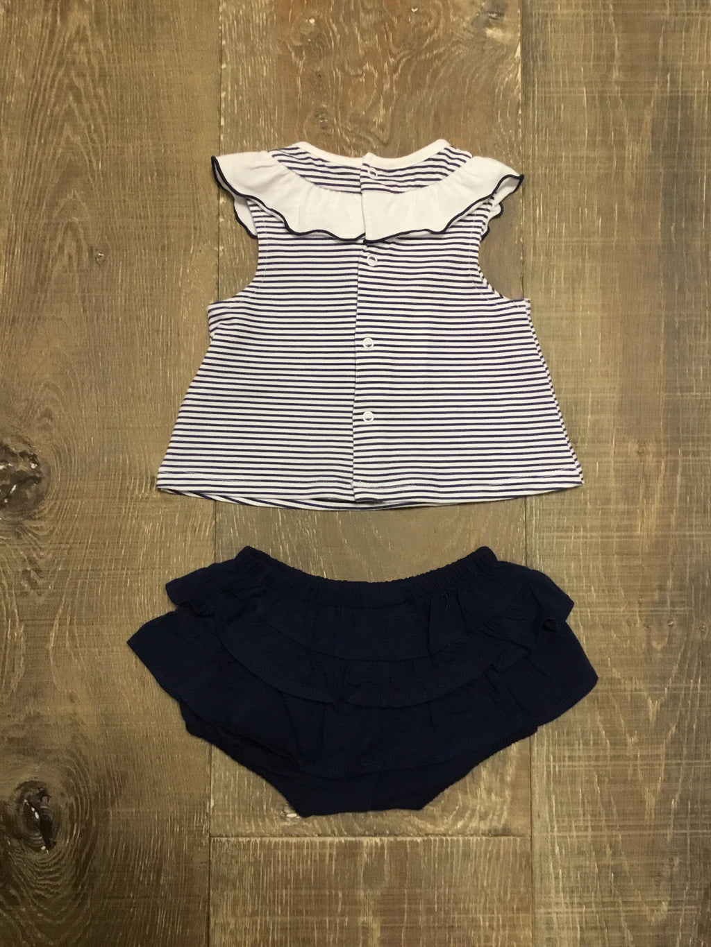 Nautical Stripe Swing Top & Bloomers