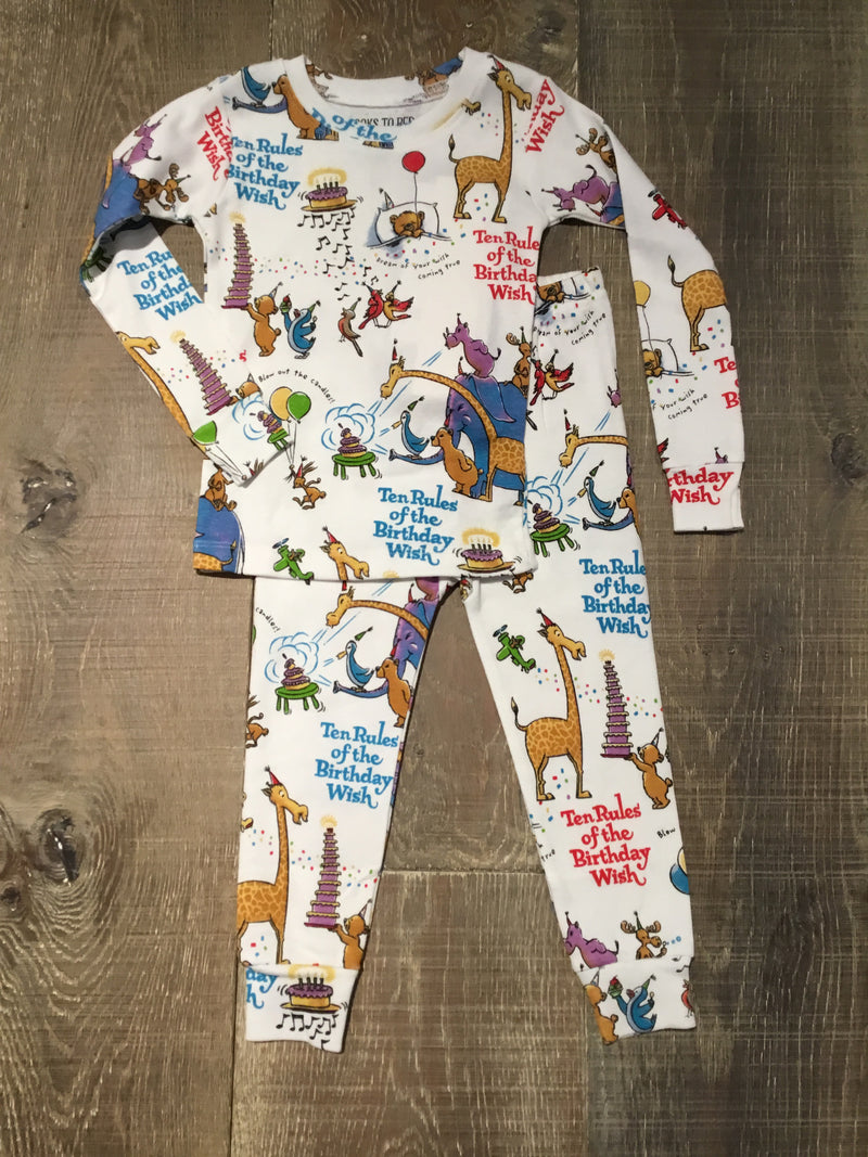 10 Rules of the Birthday Wish - Organic PJs