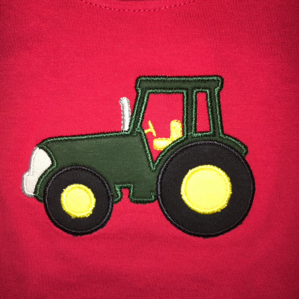 Luigi Kids Tractor Long Sleeved T-shirt