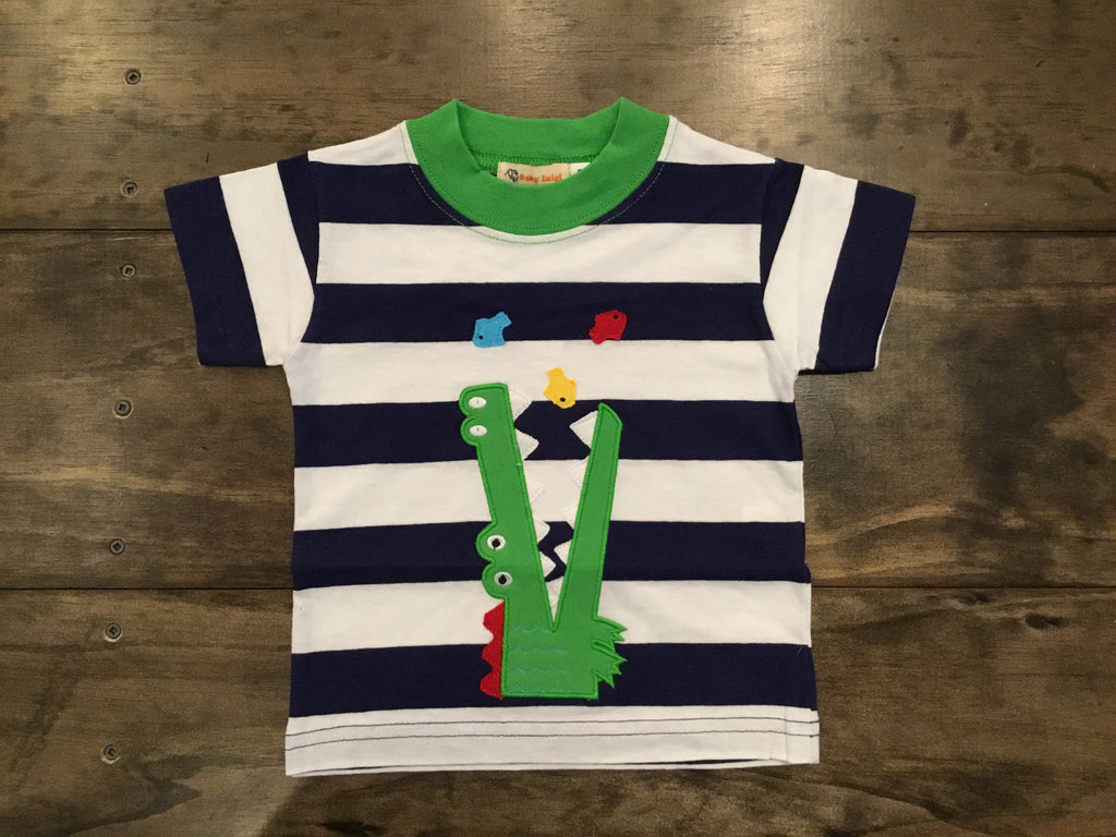 Gator Short Sleeve Shirt by Luigi Kids