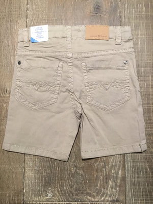 Khaki 5 Pocket Twill Shorts