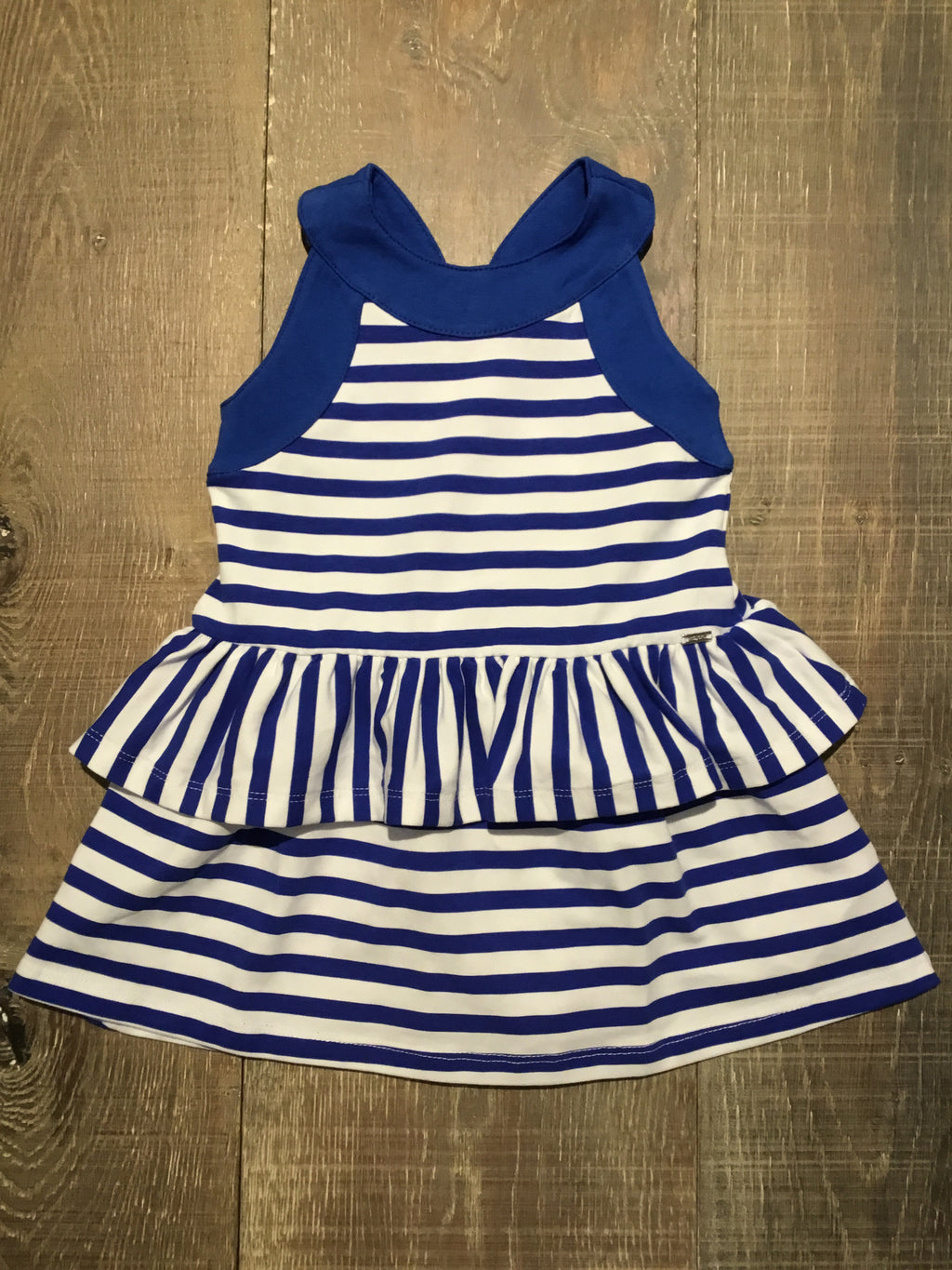 Blue Striped Sundress