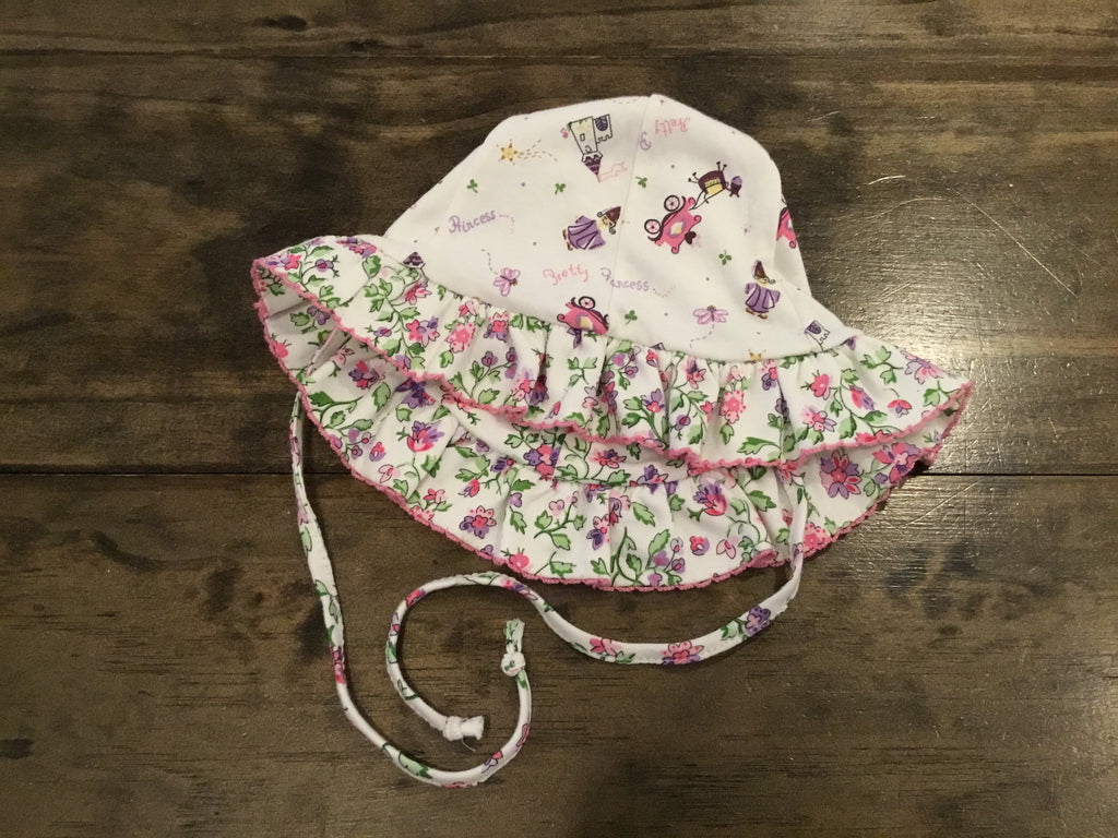 Enchanted Floral Reversible Hat
