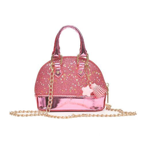 Mini Sequin Pink Sparkle Purse