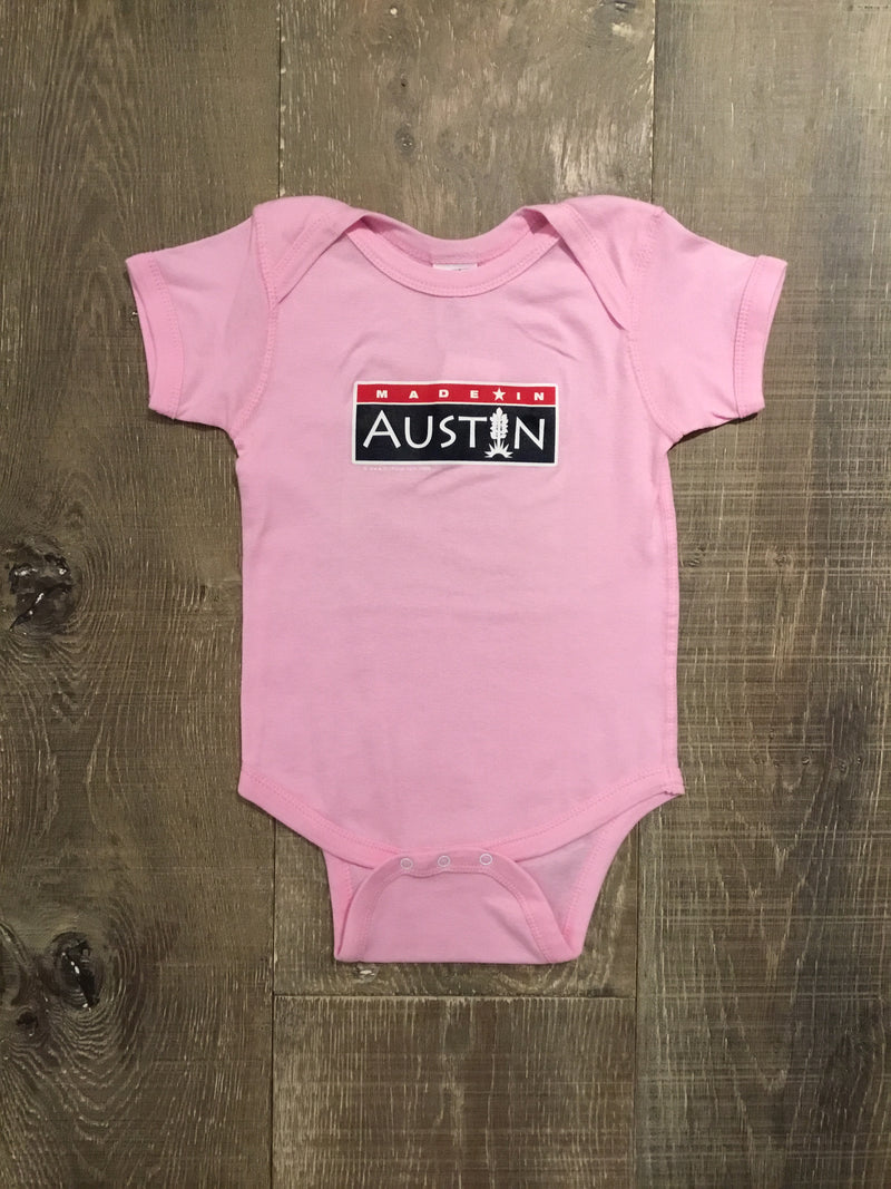 """Made in Austin"" Onesie or T-Shirt"