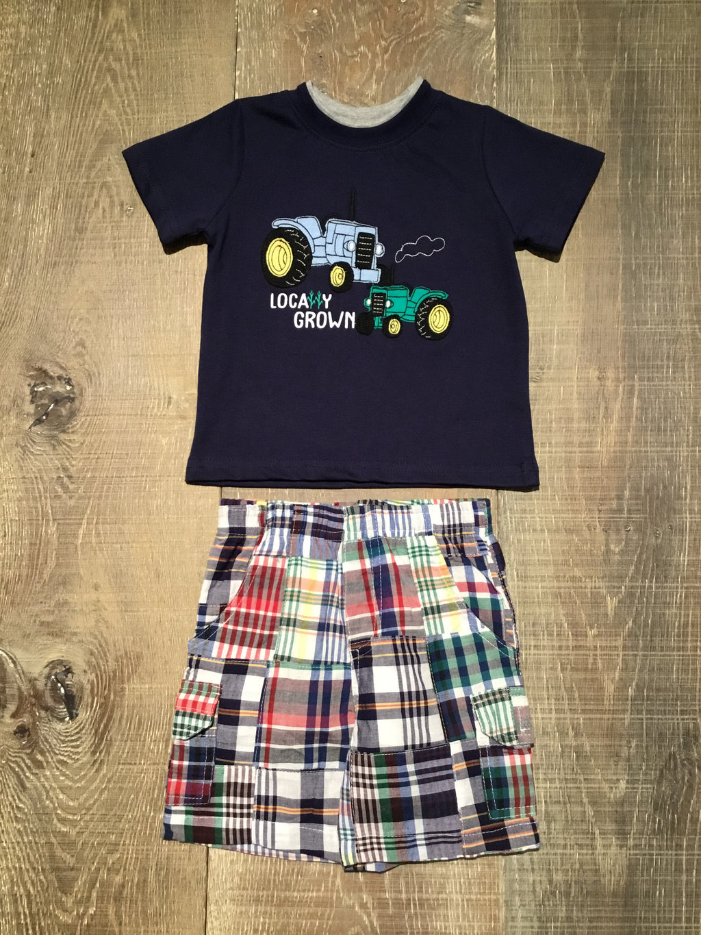 Locally Grown Shirt & Shorts Set