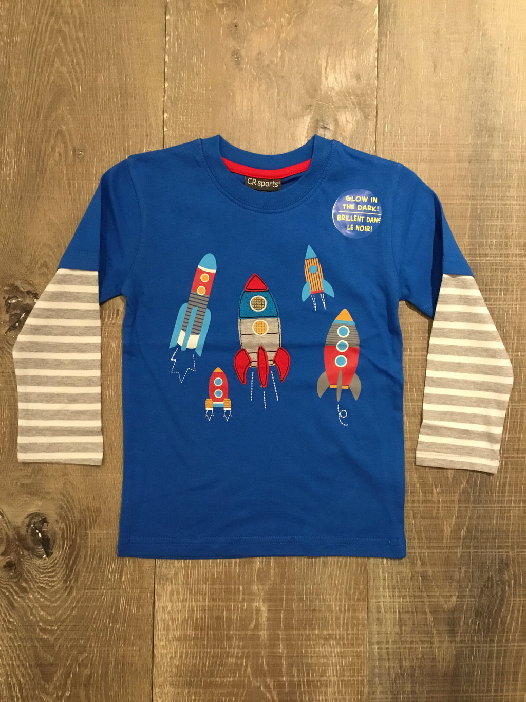 Glow in the Dark Blast Off Shirt