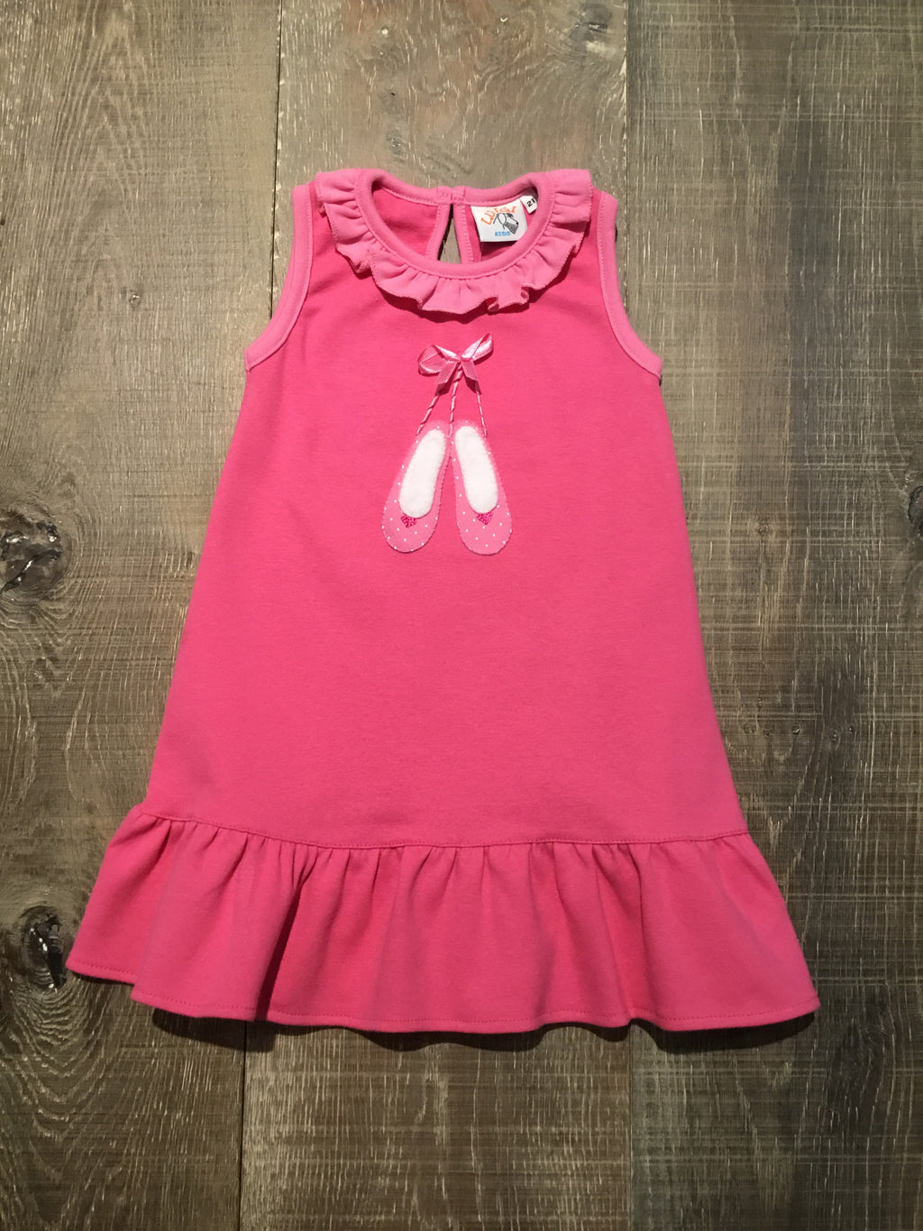 Pink Ballet Slipper Tank Dress