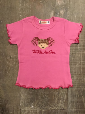 Little Sister Bubblegum Short Sleeve Shirt