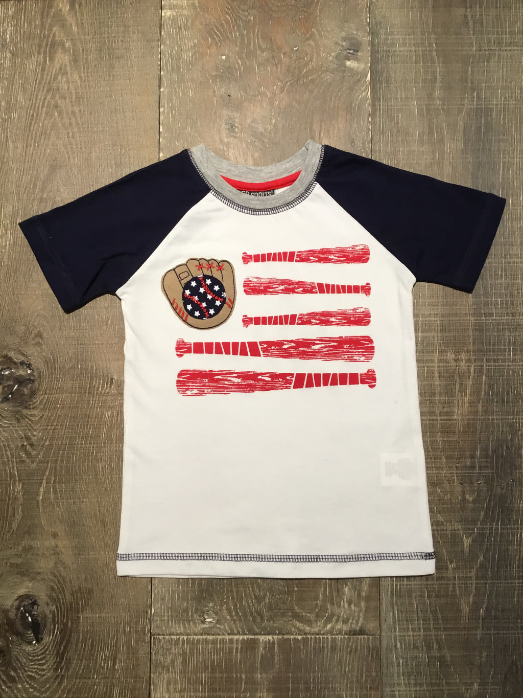 American Baseball Short Sleeve Shirt