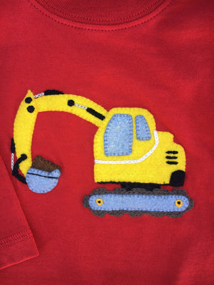 Baby Luigi Backhoe Coverall