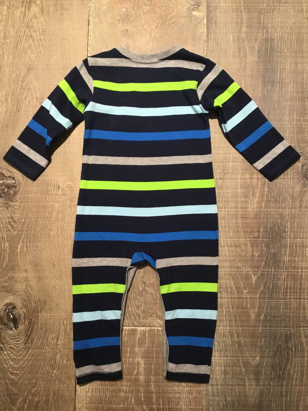 Blue Stripe Coverall