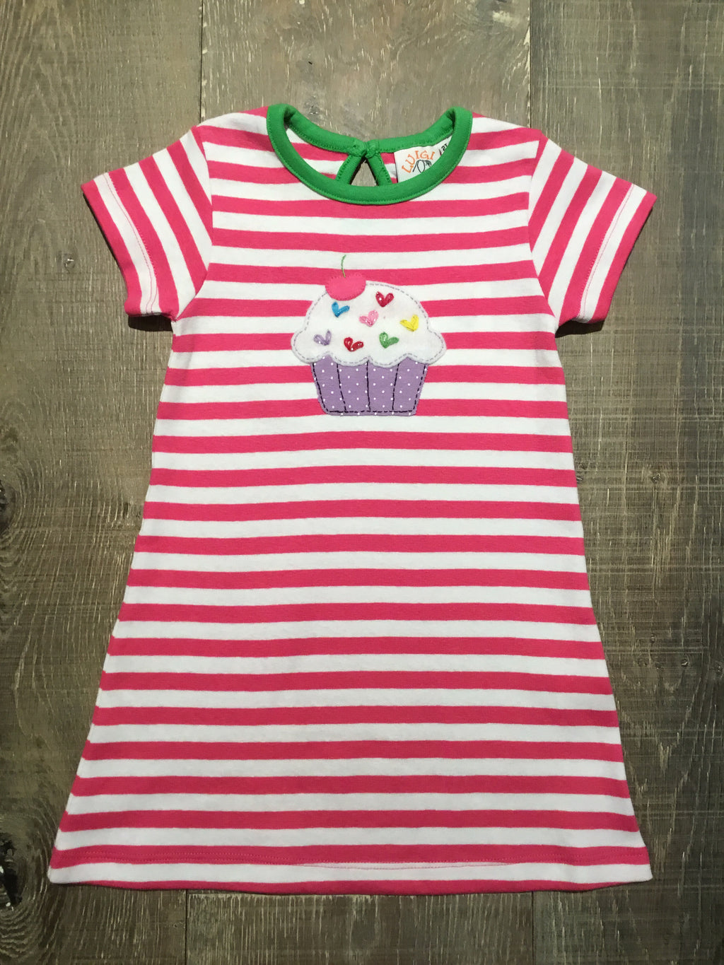 Cupcake A-Line Short Sleeve Dress