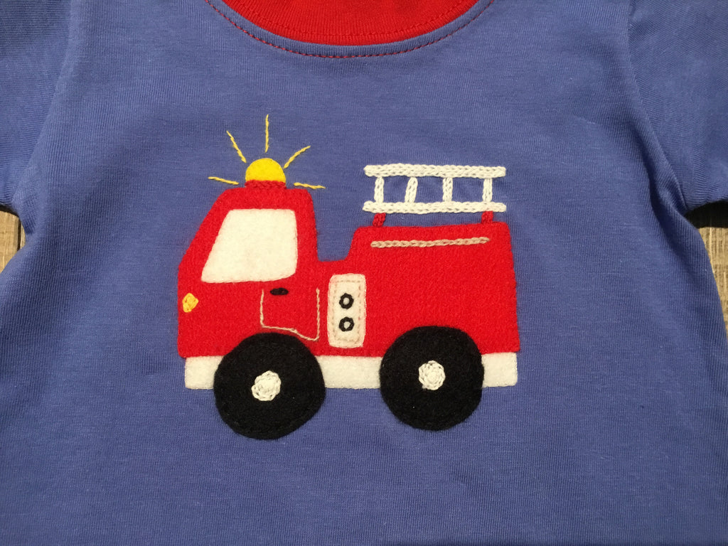 Fire Engine Chambray Coverall
