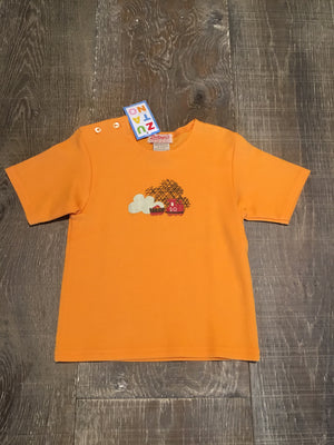 Orange Train Short Sleeve Shirt