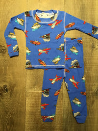 Bon Voyage Long PJs by Thingamajiggies4Kids