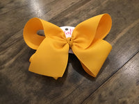 Giant French Clip Basic Bows
