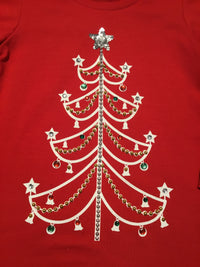 Blingy Christmas Tree Tunic