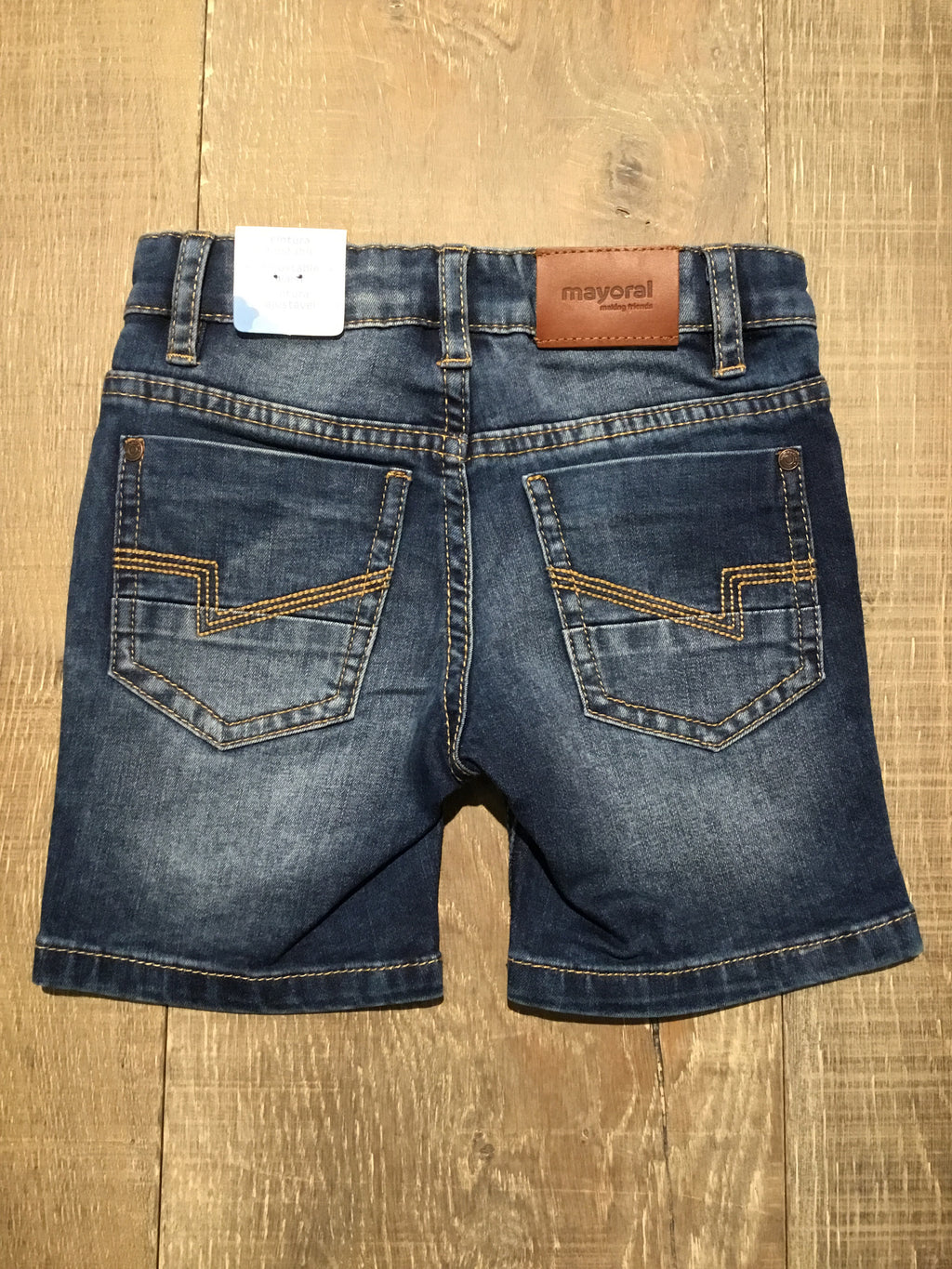 Denim 5 Pocket Shorts