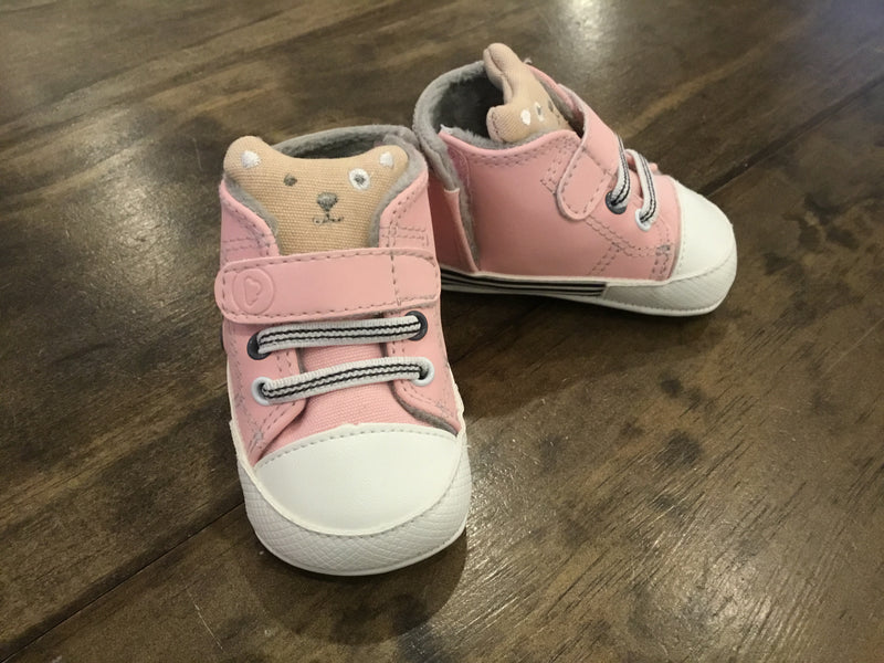 Sporty Pink Bear Bootie