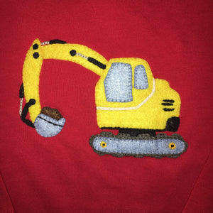 Luigi Excavator Long Sleeved T-shirt
