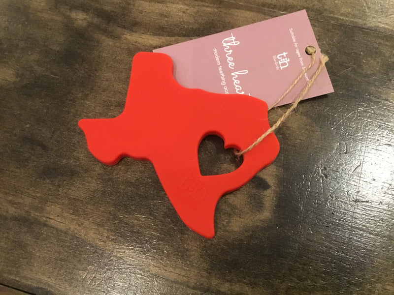 Texas Silicone Teethers in Assorted Colors