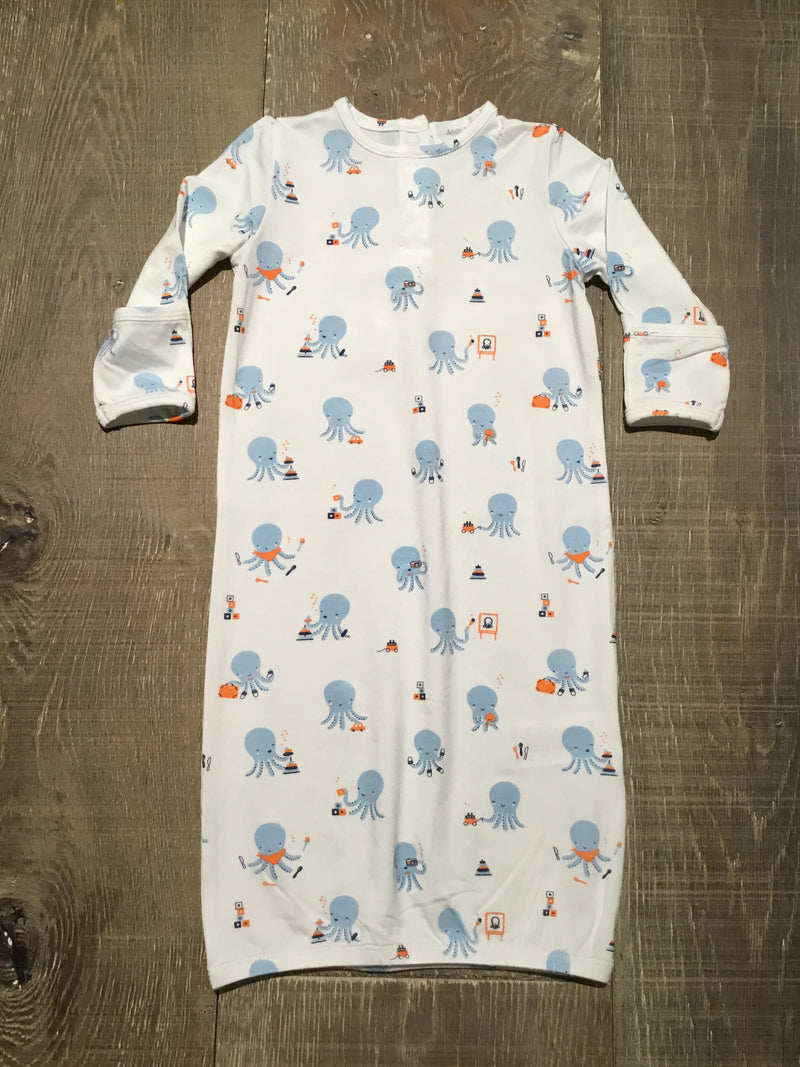 Blue Octopus Playtime Gown
