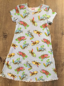Beach Woodies Short Sleeve Night Gown