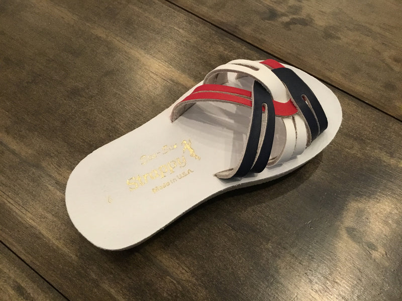 Salt Water Strappy Slide Sandals from Hoy Shoe Co.