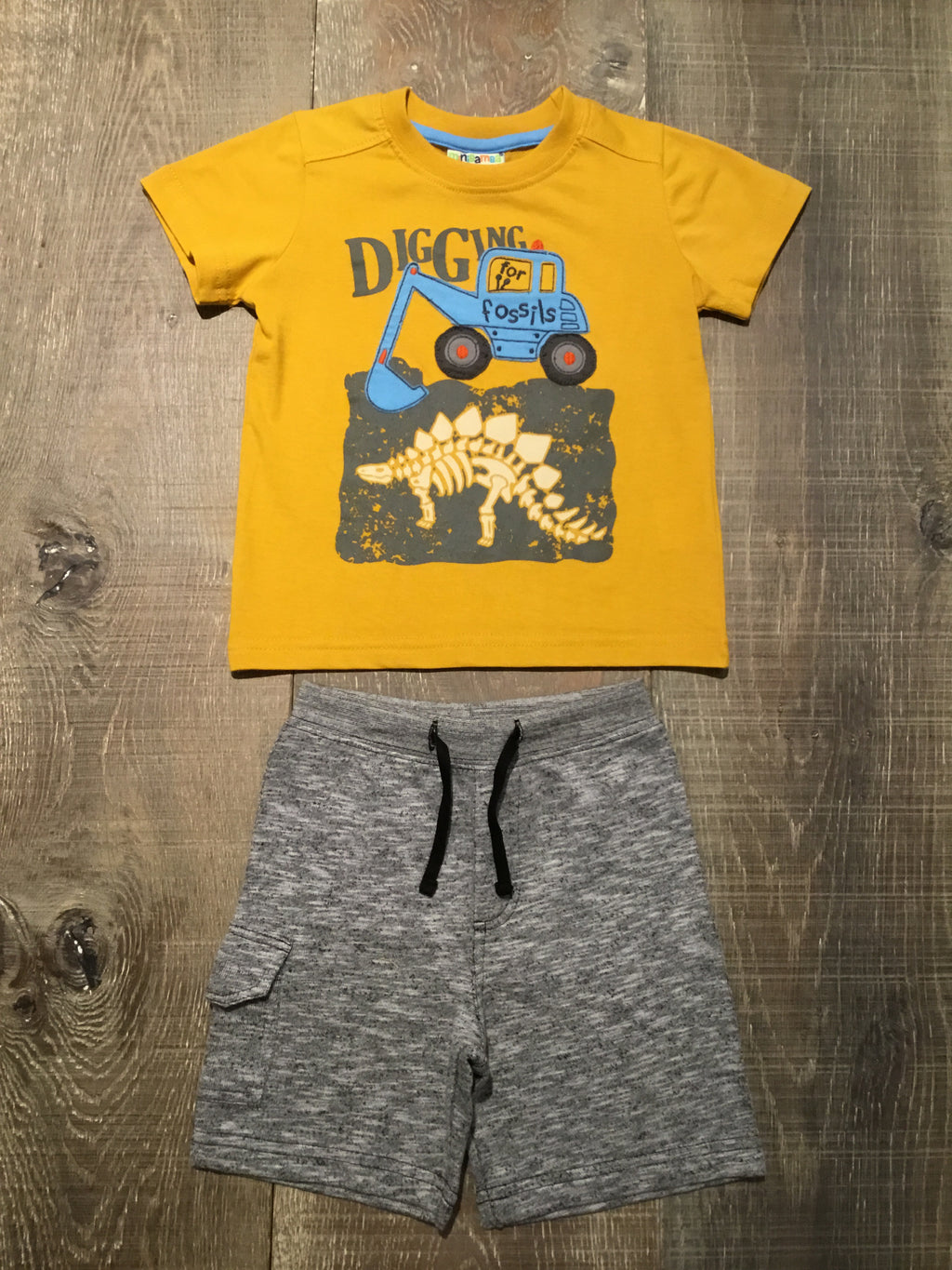 Digging for Dinos Shirt & Shorts Set