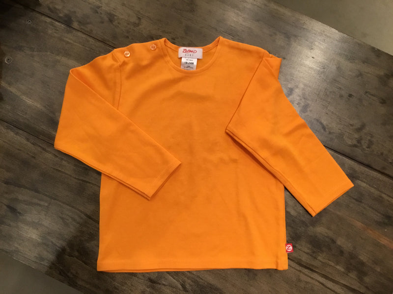 Infant Solid Long Sleeve Shirt by Zutano