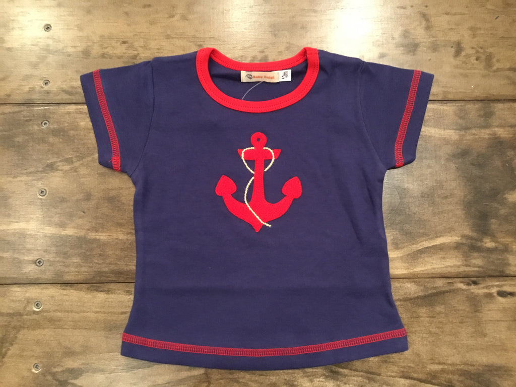 Anchor with Rope Shirt by Luigi Kids