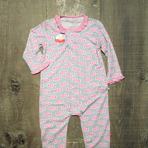 LAST ONE - Size 6-9m Sugar Baby Modal Magnetic Coverall