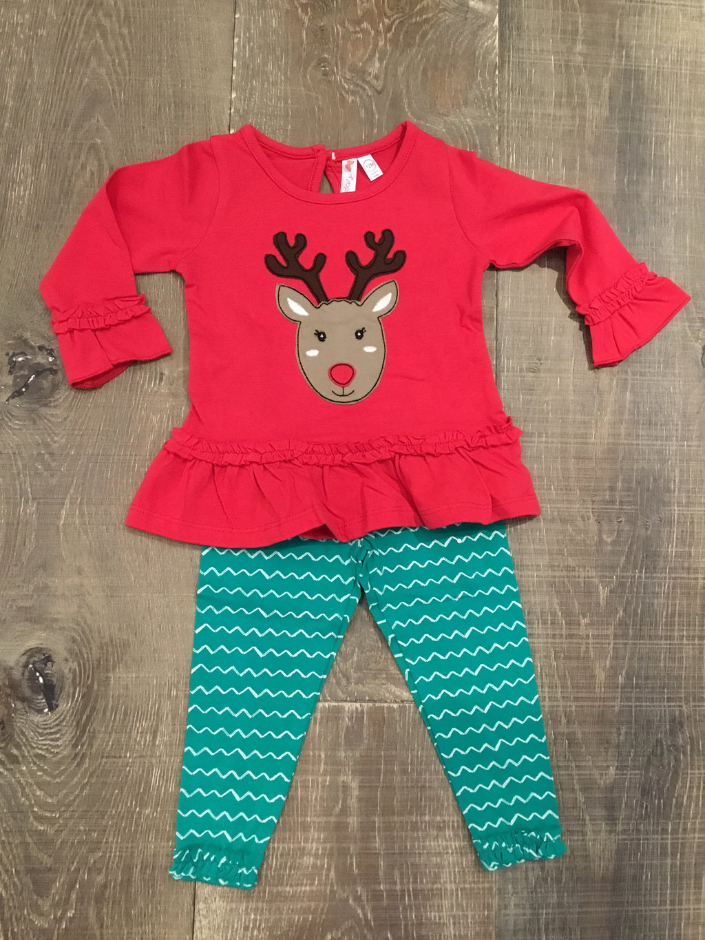 Reindeer Tunic and Legging Set