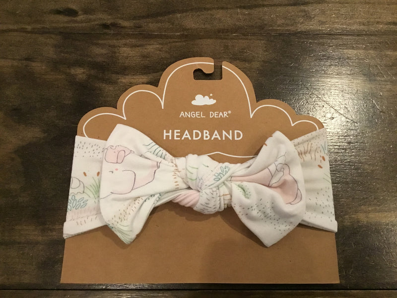 Angel Dear Pink Elephant Headband