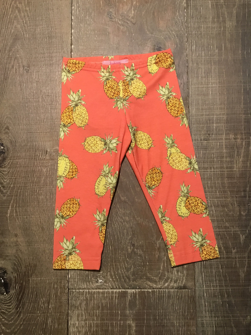 Pineapple Capri Leggings