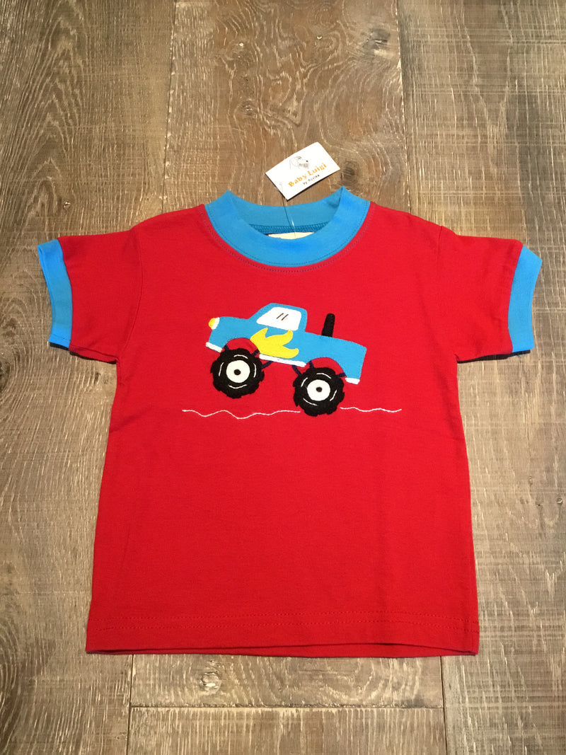 Monster Truck Red T-Shirt