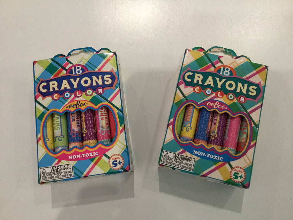 18 Pack Crayons by eeBoo