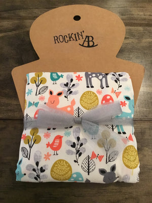 Designer Burp Cloths by Rockin' AB - multiple options available