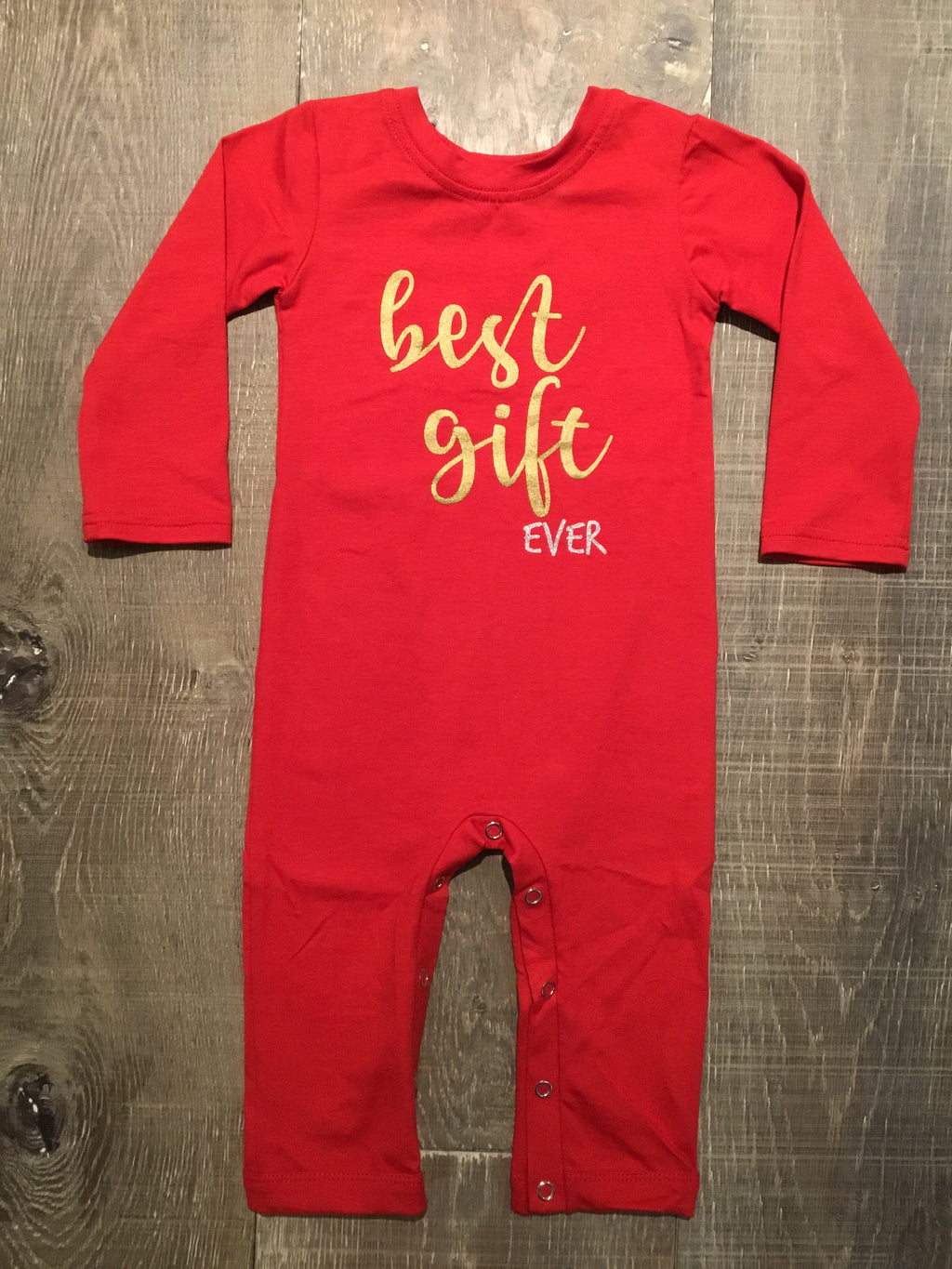 """Best Gift Ever"" Coverall"
