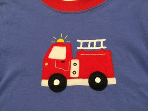Fire Engine Chambray LS Tee