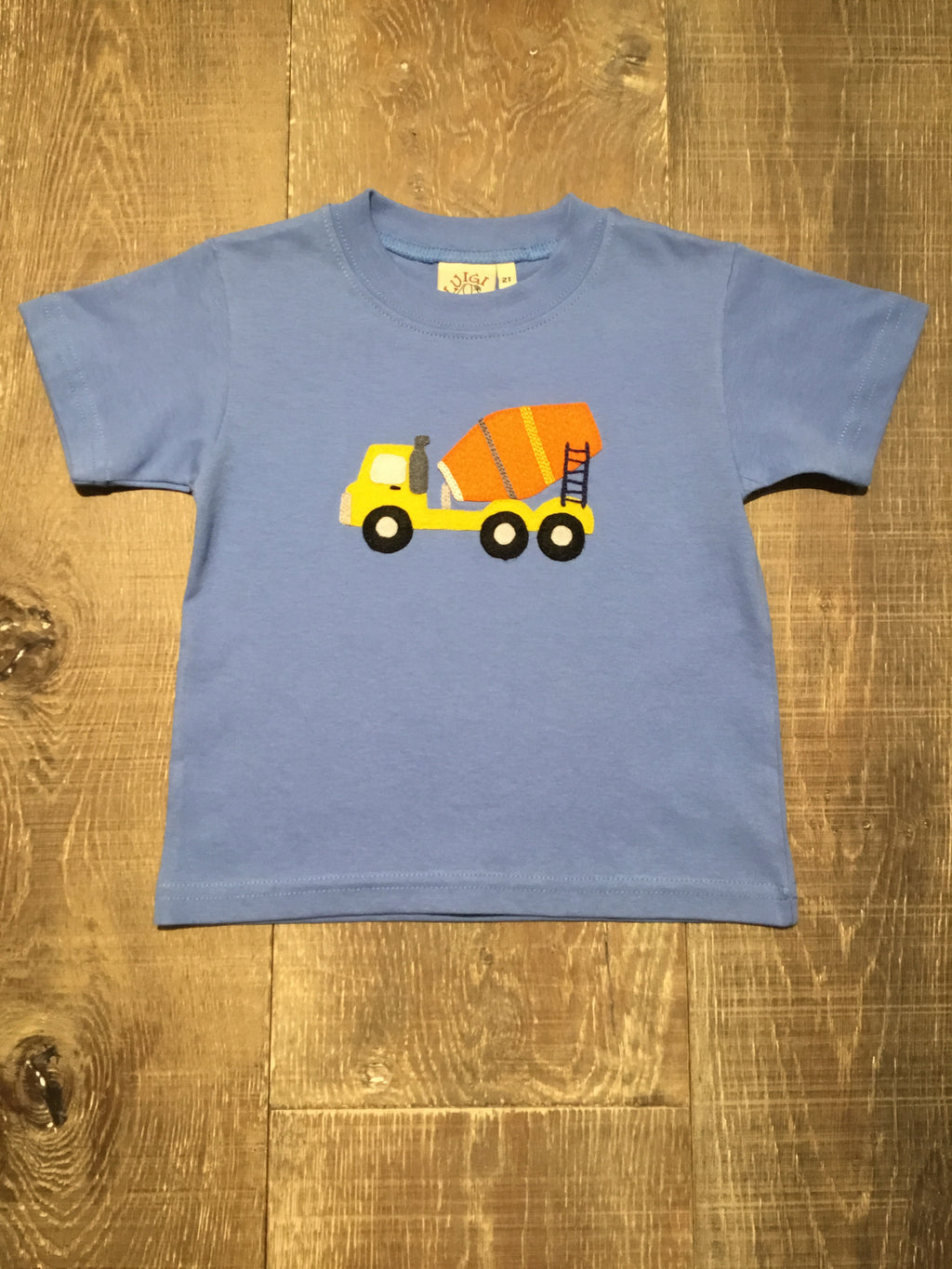Cement Truck Chambray T-Shirt