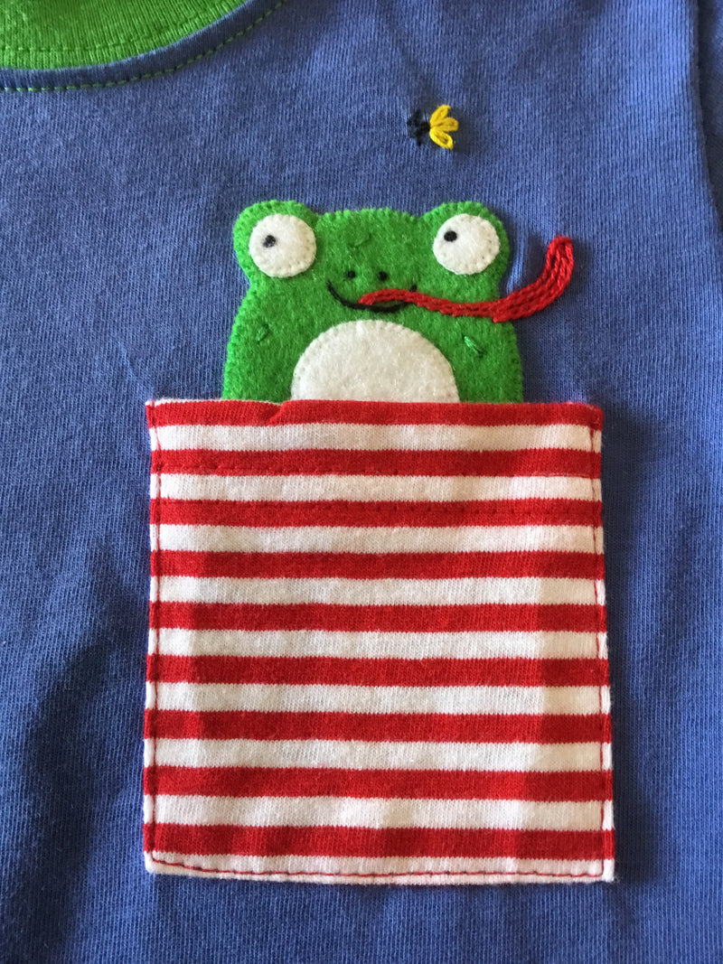 Hungry Frog Pocket T-Shirt